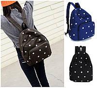 Рюкзак с принтом женский городской школьный