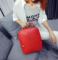Рюкзак женский сумка из кожзама городской  Feshen