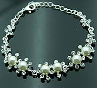 Новые свадебные браслеты от дизайнеров RRR - нарядные женские браслеты. 1057