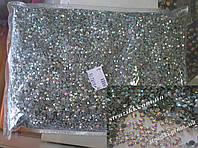 Dmc Crystal_AB серый клей ss20 100gross (Стразы стекло 12)