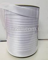 1,5см косая-бейка белая 1боб (Окантовочная атласная бейка)
