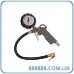 Пистолет для подкачки шин блистер 81-520 Миол пневматический с манометром