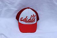 Кепка однотонная с логотипом Adidas, сетка 001