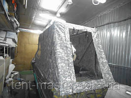 Ходовой/Транспортировочный тент для лодки Казанка