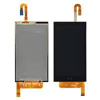 Дисплей (LCD) HTC 610 Desire с сенсором черный