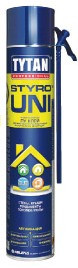 Піна-клей для кріплення теплоізоляційних матеріалів Tytan STYRO UNI STD B3 750 мл