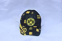 Кепка однотонная с логотипом Бавария Дортмунд , сетка 001