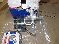 Насос водяной ГАЗ двигатель 405 с электро магнитной муфтой под штекер Диаметр патрубков 44мм и 28мм