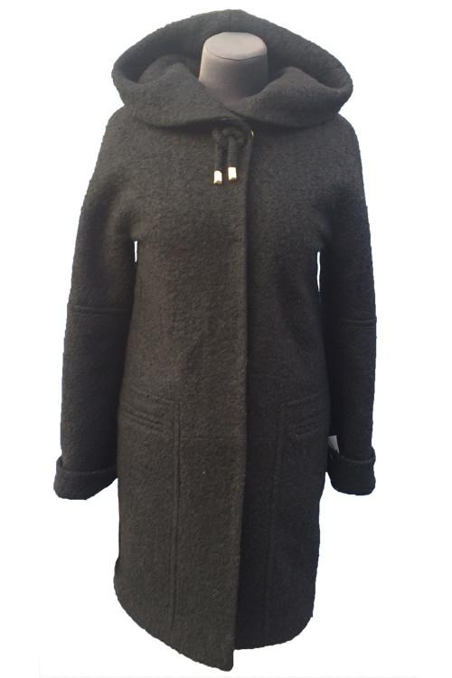 Пальто женское утепленноеиAlmatti модель O-248-16 черное