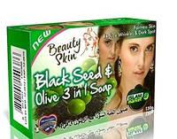 Мыло с чёрным тмином и оливой (12.16)