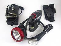 Налобный фонарь Коногонка шахтерская Shanxing SX - 0018