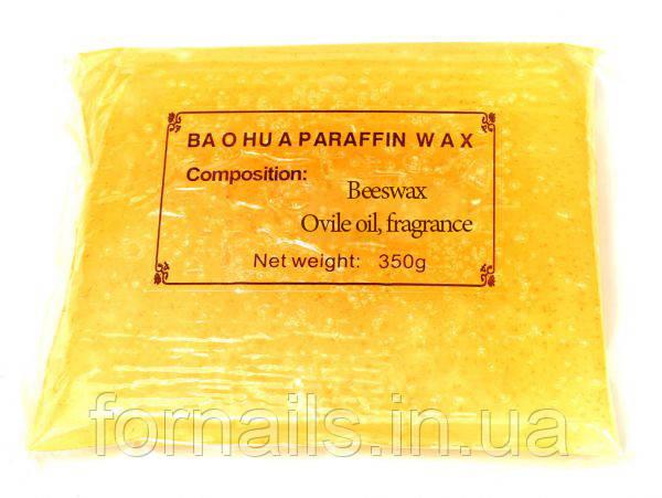 Парафин в пакете 350 г, апельсин