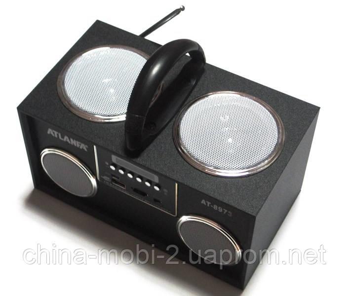 Акустичка Atlanfa AT-8973 MP3 SD USB FM , black