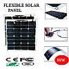 Гнучка сонячна батарея 50 Вт 12 В (BSP 32-50), фото 2