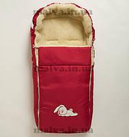 Конверт зимний в коляску  Al-len №3(красный), фото 1