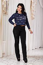 ДТ200511  Женские брюки теплые размеры 46-56, фото 3