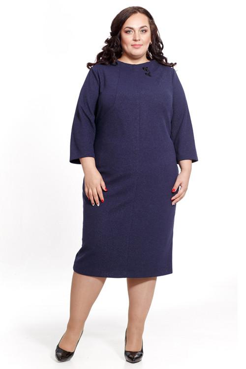 Платье женское Petro Soroka модель МС 2380-14 Синее