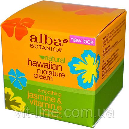 Alba Botanica, Гавайский увлажняющий крем, Жасмин и витамин E(85 г), фото 2