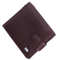 Кожаный мужской кошелек (портмоне) Balisa коричневого цвета, фото 1