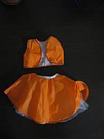 Костюм фантазия (белочка,лисичка) юбка с плотным ,пышным подъюбником