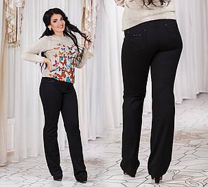 ДТ7007  Женские брюки теплые размеры 46-56, фото 2