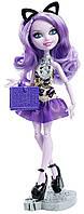 Китти Чешир кукла Mattel Эвер Афтер Хай серия книжная вечеринка, кукла шарнирная, Ever After Kitty Cheshire