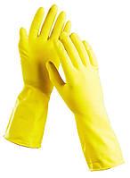 Перчатки латексные хозяйственные (ассорти)