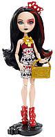 Лиззи Хартс  шарнирная кукла из серии Эвер Хай книжная вечеринка, Ever After High Book Party Lizzie Hearts