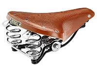 Седло велосипедное женское BROOKS B66S Honey