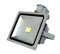 Светодиодный прожектор 30 Вт. Standart + датчик движения и освещения