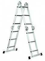 Лестница шарнирная WERK LC2412 (35271)