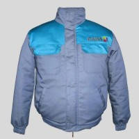 Куртка  утепленная, курточка зимняя, спецодежда, рабочая курточка