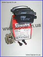 Тормозные колодки задние дисковые Renault Kangoo II 08-  TRW Германия GDB1786