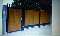 Ворота кованые Бук