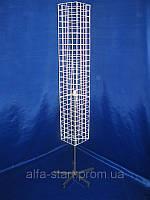 Квадратная вертушка барабан сеткой для навешивания крючков,кронштейнов