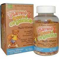 Органические витамины Мишки Ямми мультивитамины  Hero Nutritional 90 шт (Hero Nutritionals)