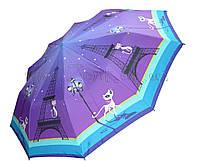 Женский зонт Zest Кошки в Париже ( автомат, 10 спиц ) арт. 53616-35