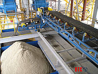Конвейерная система подачи и складирования инертных материалов БСУ