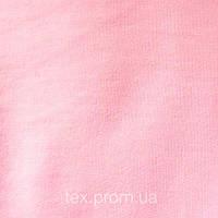 Трикотажное полотно футер двунитка петля хлопок пенье 30/30, светло-розовый