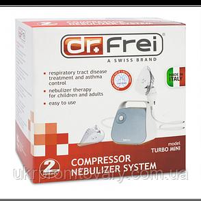 Компрессорный небулайзер Доктор Фрай - Dr.Frei Turbo Mini Распродажа, фото 2