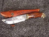 Нож охотничий Гризли , ручная работа, оригинальный подарок