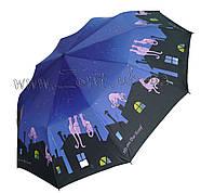 Женский зонт Zest Кошки на крыше ( автомат, 10 спиц ) арт. 53616-34