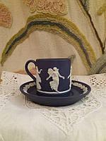 Веджвуд кофейная кружечка с тарелочкой