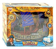 Корабель піратів 352-1  в коробці зв.св.бат,