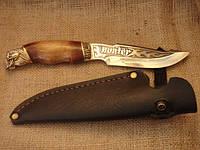 Нож охотничий Череп 2, ручная работа, оригинальный подарок, фото 1