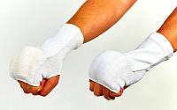 Накладки (перчатки) для карате Х-б+эластан L