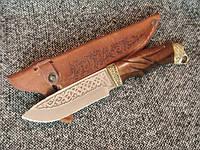 Нож охотничий Трофей, ручная работа, оригинальный подарок