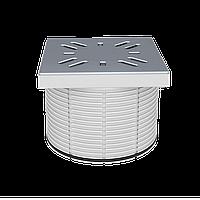 Надставка с решёткой из нержавеющей стали, 100х100 мм STY-505-100