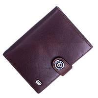 Кожаный мужской кошелек (портмоне) Balisa коричневого цвета