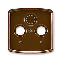 Центральная панель для механизма антенной розетки ТВ+Радио